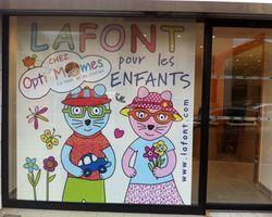 Opti'mômes – Eybens - Showroom LAFONT pour les enfants